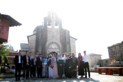 Omladina iz zeničkog Odbora za međureligijsku saradnju u jednodnevnoj posjeti Trebinju
