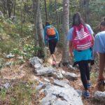 """Foto vijest – Nedeljni treninag i šetnja kroz Orjen mladih odbojkašica ŽOK """"Leotar"""""""