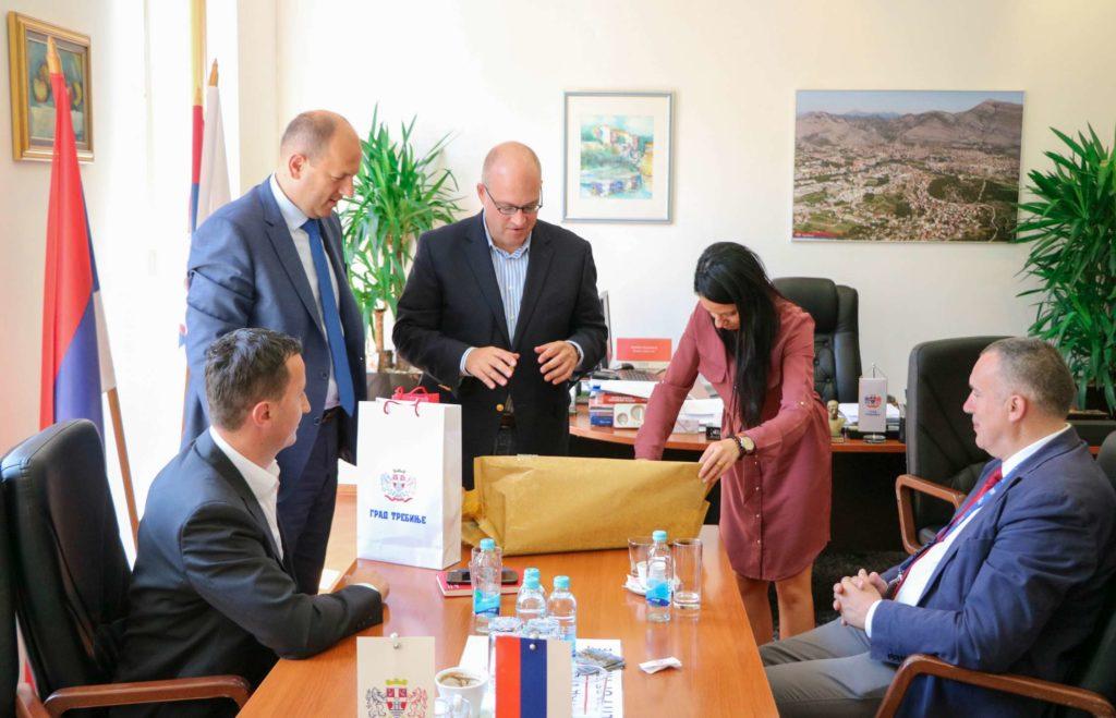 Posjeta Šefa misije OSCE-a gradonačelniku Trebinja
