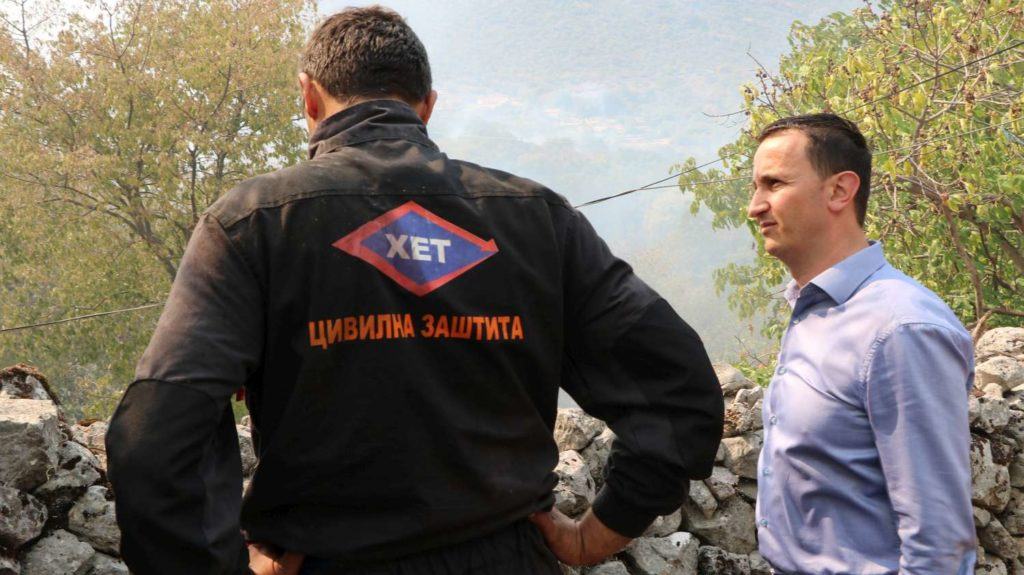 Gradonačelnik Trebinja obišao požarišta: Ukoliko se požari nastave biće angažovani i dobrovoljci