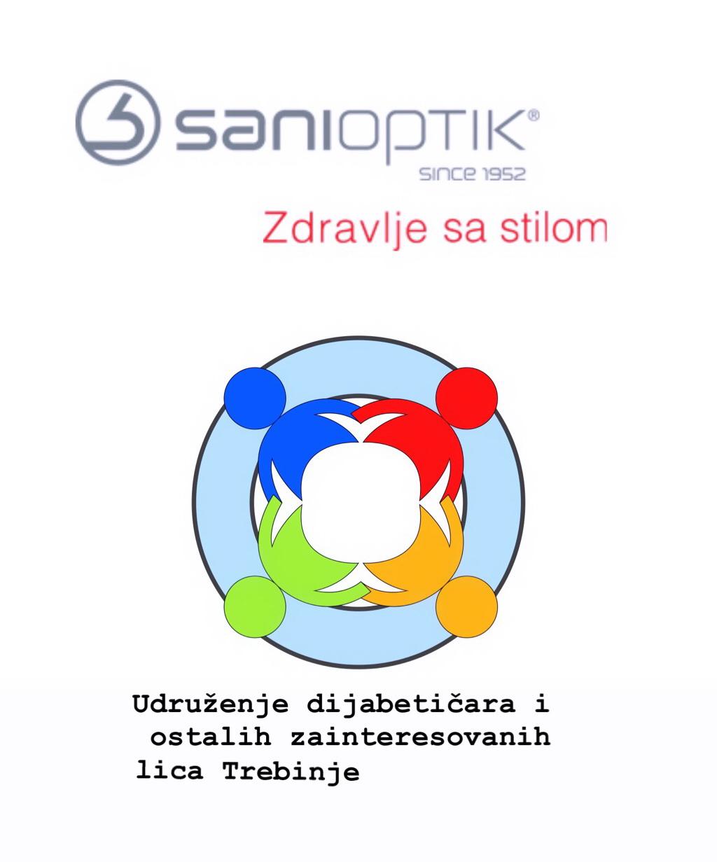Lijepe vijesti iz udruženja dijabetičara i ostalih zainteresovanih lica Trebinje – Potpisan Protokol o saradnji sa kompanijom Sani Optik