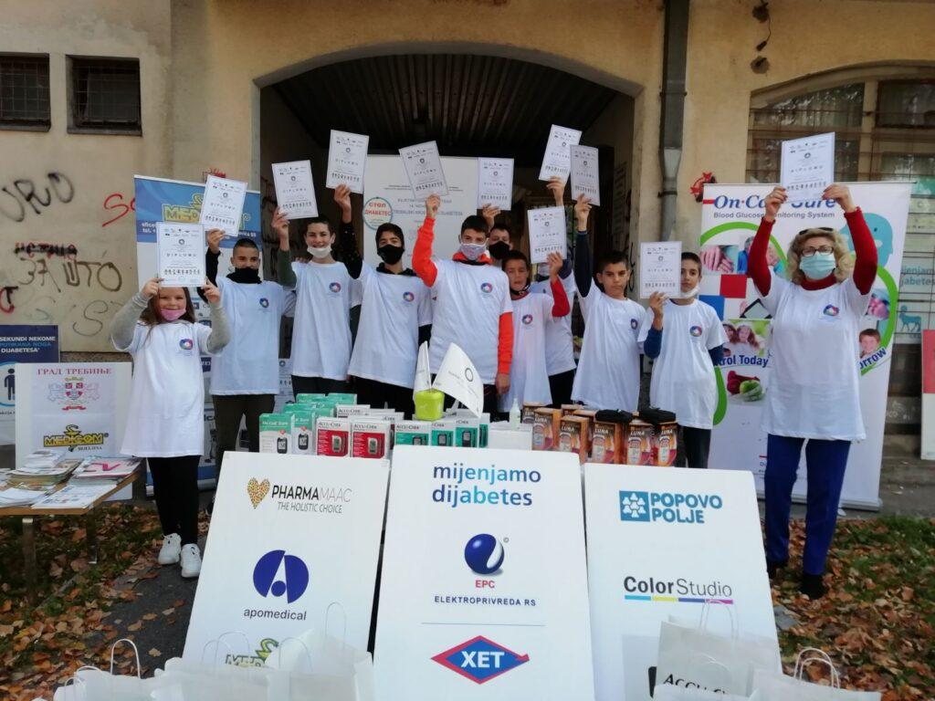 Udruženje dijabetičara i ostalih zainteresovanih lica Trebinje: Pismo zahvalnosti medicinskim radnicima Trebinja