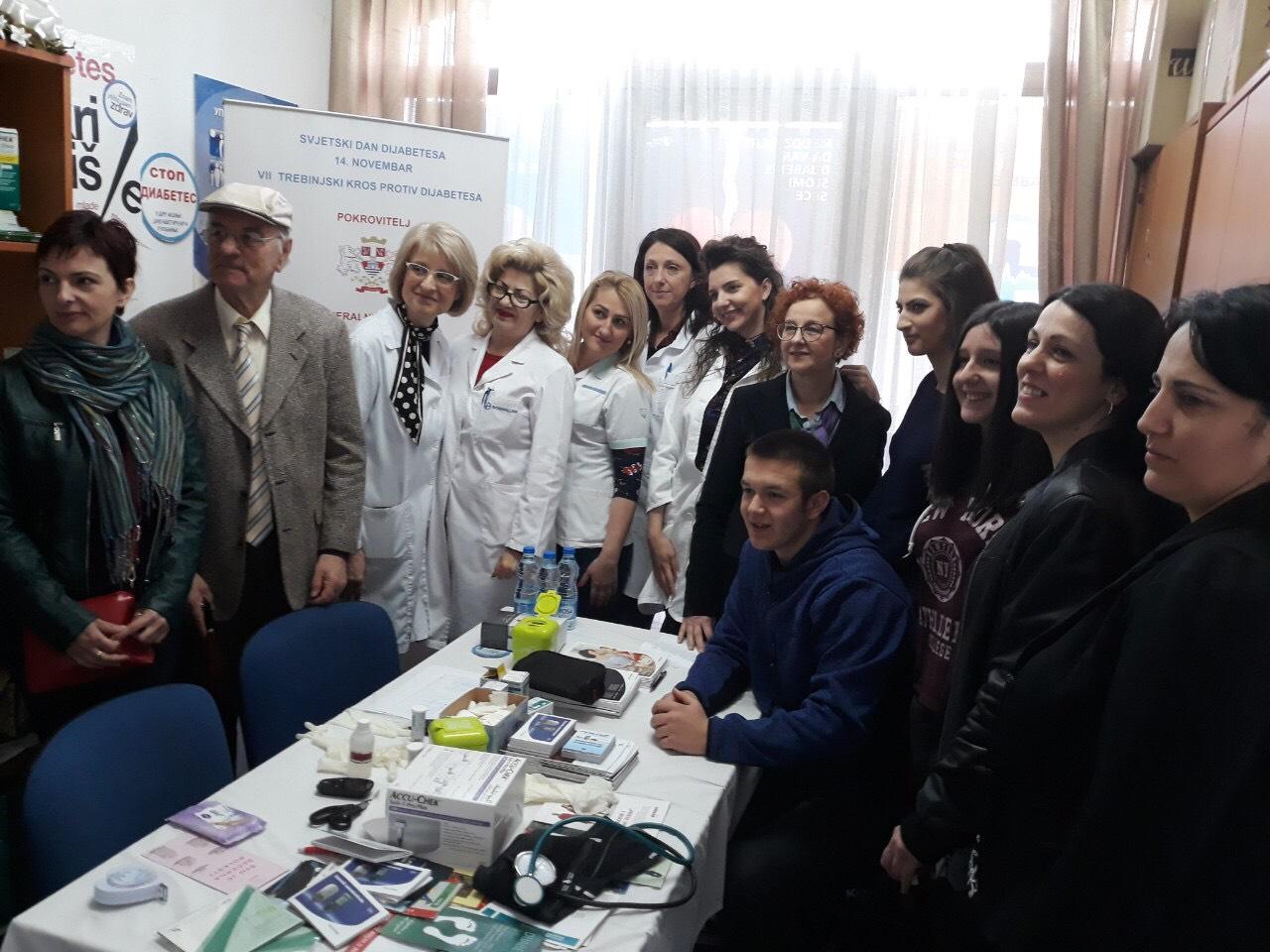 Danas niz aktivnosti u trebinjskom udruženju dijabetičara povodom Svjetskog dana zdravlja